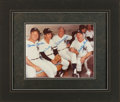 Baseball Collectibles:Photos, New York Yankees Legends Multi Signed Photograph. ...