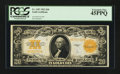 Large Size:Gold Certificates, Fr. 1187 $20 1922 Gold Certificate PCGS Extremely Fine 45PPQ.. ...