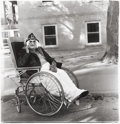 Photographs:20th Century, DIANE ARBUS (American, 1923-1971). Masked Woman in a Wheelchair,PA, 1970. Gelatin silver, 1972 by Neil Selkirk. Image: ...
