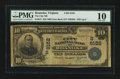 National Bank Notes:Virginia, Roanoke, VA - $10 1902 Date Back Fr. 617 The City NB Ch. # (S)8152....