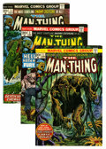 Bronze Age (1970-1979):Horror, Man-Thing Group (Marvel, 1974-79) Condition: Average VF/NM....(Total: 27 Comic Books)