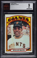 Baseball Cards:Singles (1970-Now), 1972 Topps Willie Mays #49 BVG Mint 9....