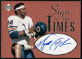 "Autographs:Sports Cards, 1997 Upper Deck ""Sign of the Times"" Walter Payton Signed Card. ..."