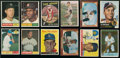 Baseball Cards:Singles (1960-1969), 1950 Through 1961 Topps and Bowman Baseball Collection (80) WithMany Stars & HoFers. ...
