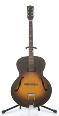 Musical Instruments:Electric Guitars, Late 1940's Gibson ES 125 Sunburst Archtop Electric Guitar ...