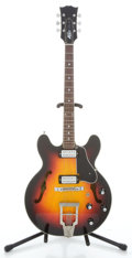 Musical Instruments:Electric Guitars, 1960's Capa Series 500 Sunburst Semi-Hollow Body Electric Guitar#23677...