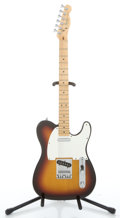 Musical Instruments:Electric Guitars, 1983 Fender Telecaster USA Sunburst Solid Body Electric Guitar #E 316886...