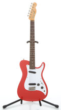 Musical Instruments:Electric Guitars, 1981 Fender Bullet 1 USA Red Solid Body Electric Guitar #101686...