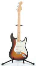 Musical Instruments:Electric Guitars, 2004 Fender Custom Shop Stratocaster Sunburst Solid Body ElectricGuitar #CN97553...