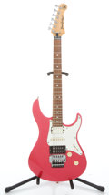 Musical Instruments:Electric Guitars, Recent Yamaha Pacifica 921 Pink Metallic Solid Body Electric Guitar...