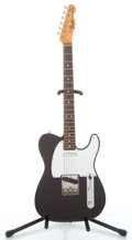 Musical Instruments:Electric Guitars, 1968 Fender Telecaster Refinished Dark Purple Solid Body Electric Guitar #225251...