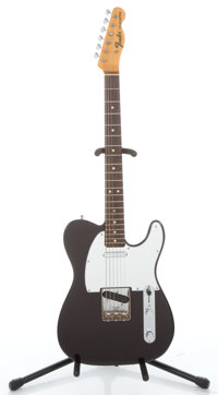 1968 Fender Telecaster Refinished Dark Purple Solid Body Electric Guitar #225251