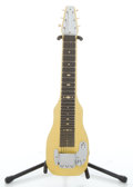Musical Instruments:Lap Steel Guitars, 1950's Fender Champion Yellow Mots Lap Steel Guitar #6098...