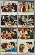 "Movie Posters:Comedy, Made in Paris (MGM, 1966). Lobby Card Set of 8 (11"" X 14""). Comedy.. ... (Total: 8 Items)"