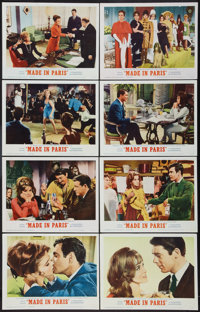 "Made in Paris (MGM, 1966). Lobby Card Set of 8 (11"" X 14""). Comedy. ... (Total: 8 Items)"