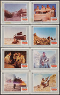 "Movie Posters:War, Tobruk (Universal, 1967). Lobby Card Set of 8 (11"" X 14""). War..... (Total: 8 Items)"