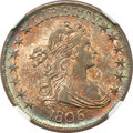 Early Half Dollars, 1806 50C Pointed 6, No Stem MS62 NGC. O-109, R.1....