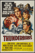 """Movie Posters:War, Thunderbirds & Other Lot (Republic, 1952). One Sheet (27"""" X41""""), Program (8.5"""" X 10.25""""), Herald (8.25"""" X 11"""") and Uncut Pr...(Total: 4 Items)"""