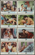 "Movie Posters:Drama, Exodus (United Artists, 1961). Lobby Card Set of 8 (11"" X 14""). Drama.. ... (Total: 8 Items)"