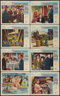 """Movie Posters:Adventure, The Mississippi Gambler (Universal International, 1953). Lobby CardSet of 8 (11"""" X 14""""). Adventure.. ... (Total: 8 Items)"""