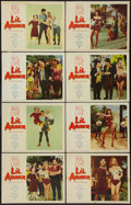 "Movie Posters:Musical, Li'l Abner (Paramount, 1959). Lobby Card Set of 8 (11"" X 14""). Musical.. ... (Total: 8 Item)"