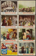 "Movie Posters:Adventure, Knights of the Round Table (MGM, 1954). Lobby Card Set of 8 (11"" X14""). Adventure.. ... (Total: 8 Items)"