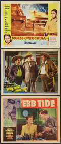 """Movie Posters:Adventure, Ebb Tide and Others Lot (Paramount, 1937). Lobby Cards (3) (11"""" X14""""). Adventure.. ... (Total: 3 Items)"""