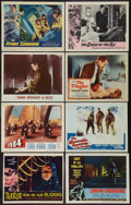 "Movie Posters:Science Fiction, Terror from the Year 5000 and Others Lot (American International,1958). Lobby Cards (8) (11"" X 14""). Science Fiction.. ... (Total: 8Items)"