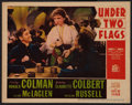 "Movie Posters:Adventure, Under Two Flags (20th Century Fox, 1936). Lobby Card (11"" X 14"").Adventure.. ..."