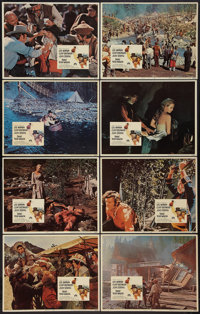 "Paint Your Wagon (Paramount, 1969). Lobby Card Set of 8 (11"" X 14""). Musical. ... (Total: 8 Items)"