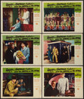 """Movie Posters:Comedy, Abbott and Costello Meet Dr. Jekyll and Mr. Hyde (Universal International, 1953). Lobby Cards (6) (11"""" X 14""""). Comedy.. ... (Total: 6 Items)"""