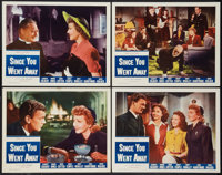 "Since You Went Away (Selznick, R-1956). Lobby Card Set of 4 (11"" X 14""). Drama. ... (Total: 4 Item)"