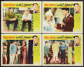 "Movie Posters:Rock and Roll, Love and Kisses and Other Lot (Universal, 1965). Lobby Cards (4)(11"" X 14"") and One Sheet (27"" X 41""). Rock and Roll.. ... (Total:5 Items)"
