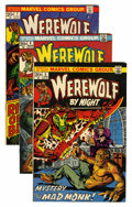 Bronze Age (1970-1979):Horror, Werewolf by Night Group (Marvel, 1972-74) Condition: AverageNM-.... (Total: 8 Comic Books)