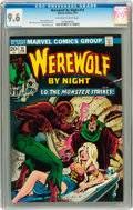Bronze Age (1970-1979):Horror, Werewolf by Night #14 (Marvel, 1974) CGC NM+ 9.6 Off-white to whitepages....