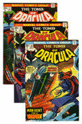 Bronze Age (1970-1979):Horror, Tomb of Dracula Group (Marvel, 1973-75) Condition: Average NM-....(Total: 7 Comic Books)