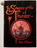 Books:First Editions, Robert E. Howard. The Sowers of the Thunder. West Kingston:Donald M. Grant, 1973. First edition. Octavo. Publis...