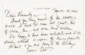 Books:Signed Editions, A. Scott Berg. Autograph Letter Signed and on Author's Stationery. Single page and dated 2002. Note from Ber...
