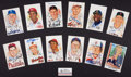 Baseball Collectibles:Others, Baseball Hall of Famer Signed Perez Steele Postcards Lot of 13....
