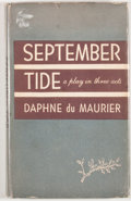 Books:First Editions, Daphne du Maurier. September Tide. Garden City: Doubleday,1950. First edition. Octavo. Publisher's binding and ...