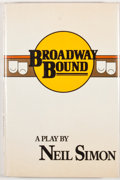 Books:First Editions, Neil Simon. Broadway Bound. New York: Random House, [1987].First edition. Review copy with slip laid in. Octavo...