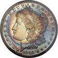 Proof Morgan Dollars, 1889 $1 PR68 Cameo PCGS. CAC....