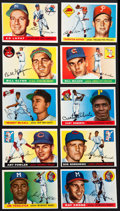 """Baseball Cards:Lots, 1955 Topps Baseball High Grade Collection Collection (69) - A """"Pack Fresh"""" Assembly! ..."""