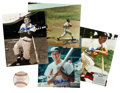 Baseball Collectibles:Others, Stan Musial Signed Memorabilia Lot of 5....