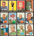 Football Cards:Sets, 1960 Topps and 1961 Topps Football Near Sets (2). ...