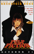 "Movie Posters:Crime, Pulp Fiction (Buena Vista International, 1994). British Posters (4) (19"" X 30"") Advance. Crime.. ... (Total: 4 Items)"