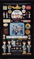 "Movie Posters:Rock and Roll, Beatles Promo (CKFM, Toronto, 1980s). Radio Station PromotionalPoster (19"" X 33.25""). Rock and Roll.. ..."