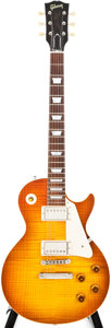 Musical Instruments:Electric Guitars, 2001 Gibson R8 Les Paul Cherry Sunburst Solid Body Electric Guitar,#81744....