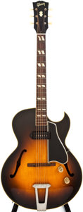Musical Instruments:Electric Guitars, 1951 Gibson ES-175 Sunburst Semi-Hollow Body Electric Guitar, #A 7253....