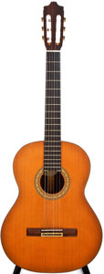 Musical Instruments:Acoustic Guitars, 1980s Guild G-5P Natural Classical Guitar, #N/A....
